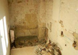 Renovation salle de bains demontage nettoyage