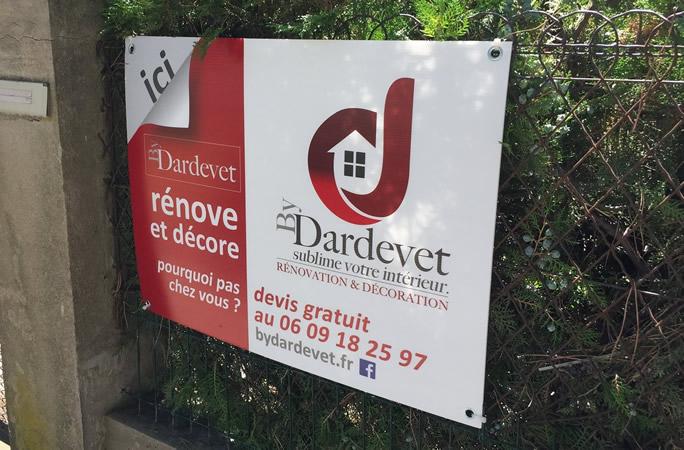 By Dardevet panneau renovation decoration