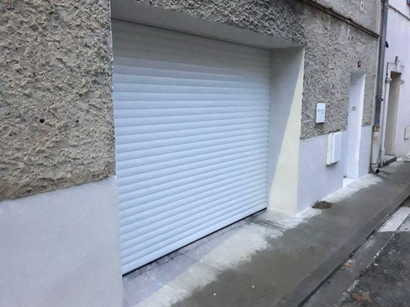 Remplacement d'une porte garage, résultat