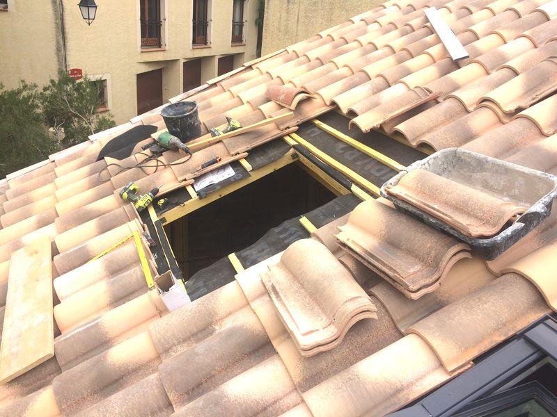 Travaux ouverture de toit